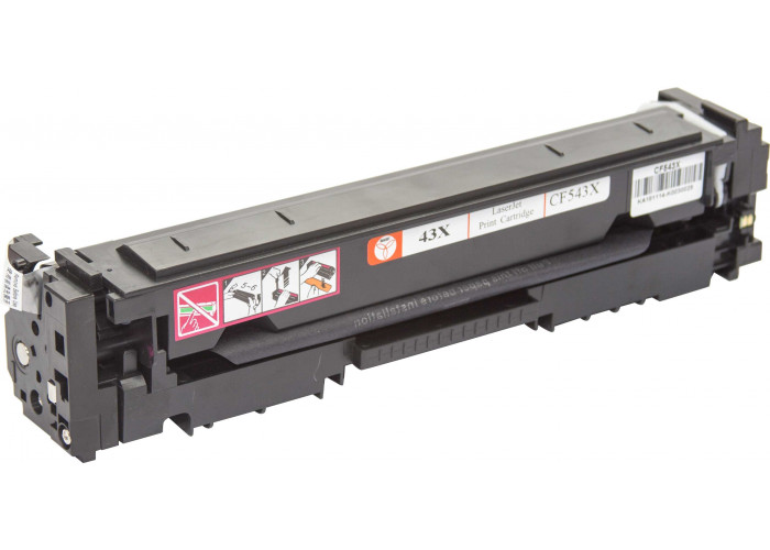 Картридж BASF аналог HP 203X, CF543Х (Color Pro M254, M280, M281) Magenta