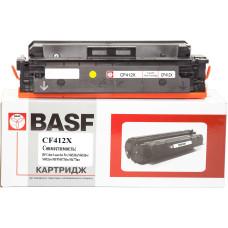Картридж BASF аналог Canon 046H, HP CF412X для LBP-650, MF730, M452, M477 (BASF-KT-046HY-U) Yellow
