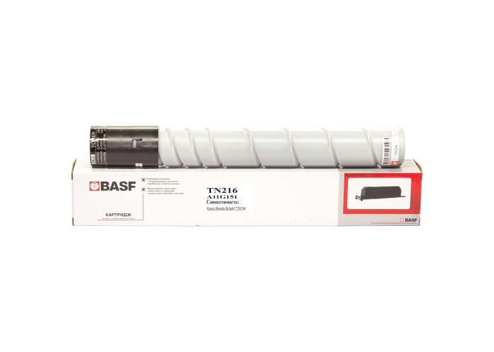 Картридж BASF аналог Konica Minolta TN-216B (A11G151) Black (BizHub C220, C280)