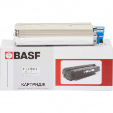 Картридж BASF аналог OKI 43324421 Yellow (C5800, C5900, C5550 MFP)