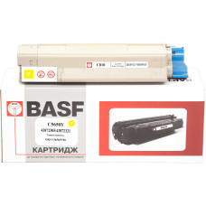 Картридж BASF аналог OKI 43872305 / 43872321 (C5650, C5750) Yellow