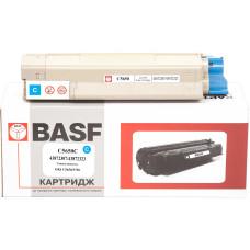 Картридж BASF аналог OKI 43872307 / 43872323 (C5650, C5750) Cyan