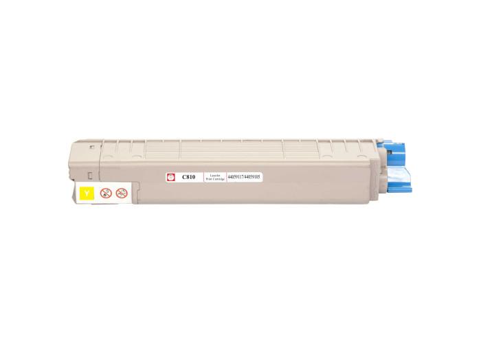 Картридж BASF для OKI C810, C830, MC860 аналог 44059117 / 44059105 Yellow