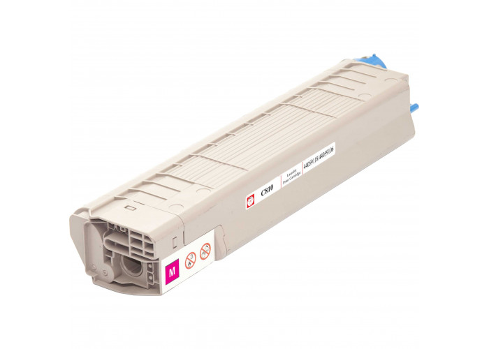 Картридж BASF аналог OKI 44059118 / 44059106 (C810, C830) Magenta