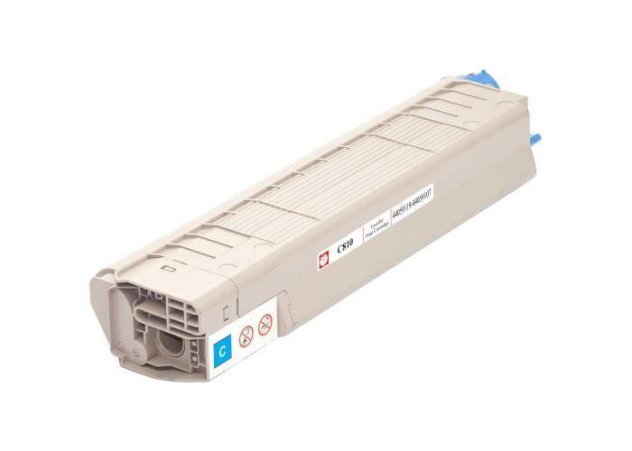 Картридж BASF аналог OKI 44059119 / 44059107 (C810, C830, MC860) Cyan
