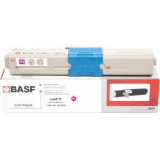 Картридж BASF аналог OKI 44469715 (C310, C330, C331, C510, C511, C530, C531, MC351, MC352, MC361, MC362) Magenta