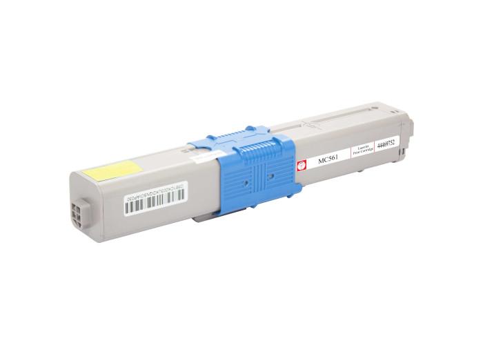 Картридж BASF аналог OKI 44469752 Yellow (C510, C511, C530, C531, MC351, MC561, MC562)
