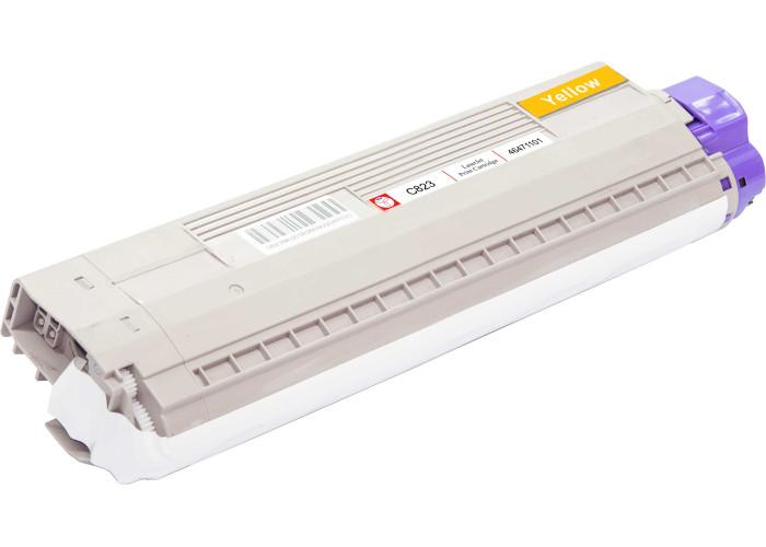 Картридж BASF аналог OKI 46471101 для C823, C833, C843 Yellow