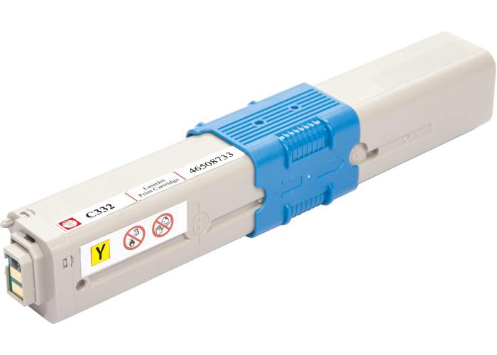 Картридж BASF аналог OKI 46508733 Yellow (C332, MC363 MFP)