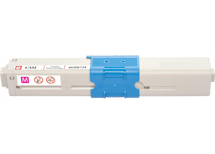 Картридж BASF аналог OKI 46508734 (C332, MC363 MFP) Magenta