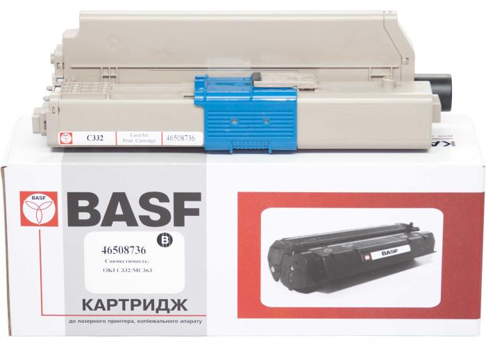 Картридж BASF аналог OKI 46508736 (C332, MC363 MFP) Black