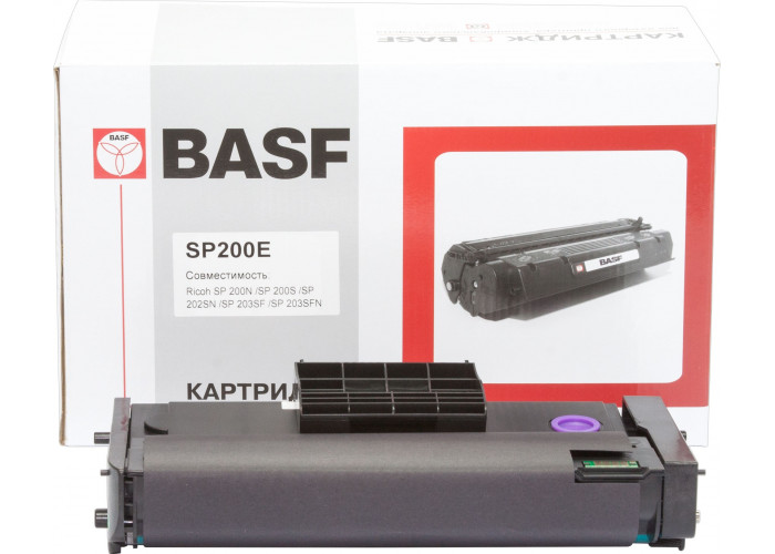Картридж BASF аналог Ricoh 407262 (SP200, SP202, SP203, SP210, SP212) Type SP 200HE