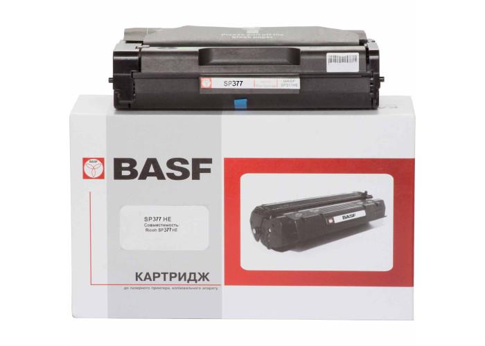 Картридж BASF аналог Ricoh SP 377HE (408162) для принтера Aficio SP377