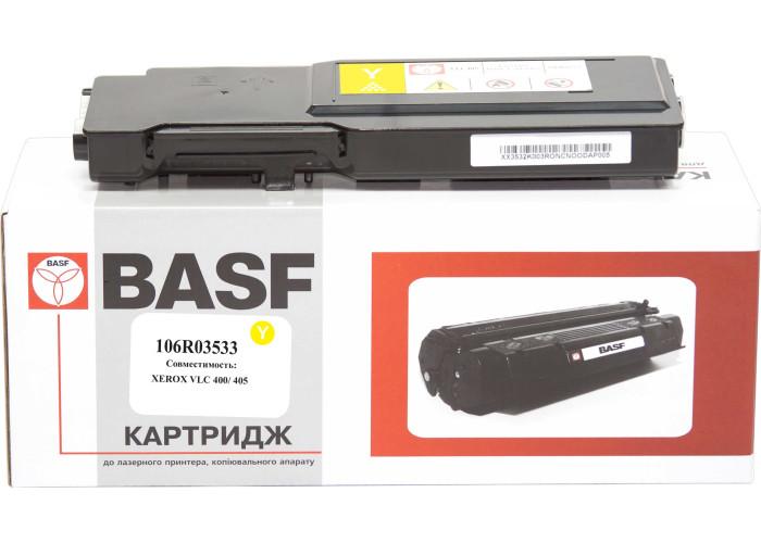 Картридж BASF аналог Xerox 106R03533 Yellow (VersaLink C400, C405)