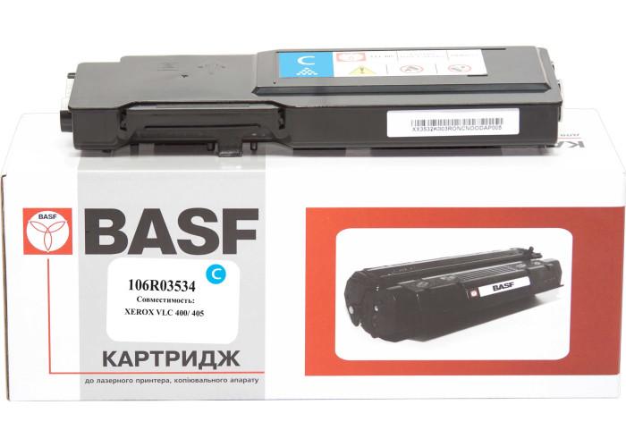 Картридж BASF аналог Xerox 106R03534 (VersaLink C400, C405) Cyan