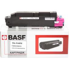 Туба з тонером BASF аналог Kyocera Mita TK-5140M (1T02NRBNL0) Magenta (ECOSYS P6130, M6030, M6530)