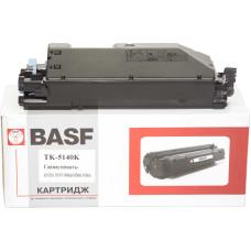 Туба з тонером BASF аналог Kyocera TK-5140 (1T02NR0NL0) Black (ECOSYS P6130, M6030, M6530)