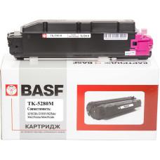 Туба з тонером BASF аналог Kyocera Mita TK-5280M, 1T02TWBNL0 (ECOSYS P6235, M6235, M6635) Magenta