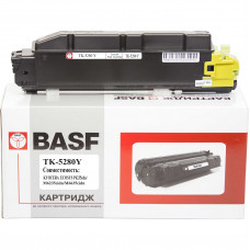 Туба з тонером BASF аналог Kyocera TK-5280Y (1T02TWANL0) Yellow (ECOSYS M6235, M6635)