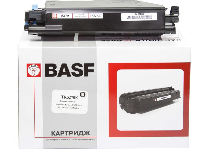 Туба з тонером BASF аналог Kyocera TK-5270K (1T02TV0NL0) Black (ECOSYS P6230, M6230, M6630)