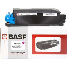 Туба з тонером BASF аналог Kyocera TK-5270M (1T02TVBNL0) Magenta (ECOSYS P6230, M6230, M6630)