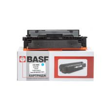 Картридж BASF аналог Canon 046H, HP CF411X для LBP-650, MF730, M452, M477 (BASF-KT-046HC-U) Cyan