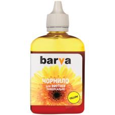 Чернила BARVA для Brother Yellow универсальные №5 (BU5-482) 90г