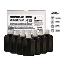Чернила Barva для Canon, HP, Lexmark универсальные №4 (CU4-1SP-B) Black 10x100мл