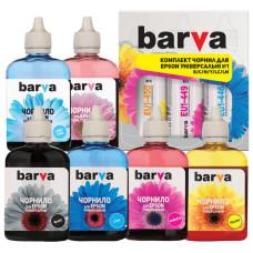 Чернила BARVA для Epson Stylus Photo 1410, P50, PX700, PX800, R270, R390, RX600, RX700, T50, T59, TX700 (EU1-090-2MP) 6x90мл