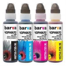 Чернила BARVA для HP GT5810, GT5820, Ink Tank 115, 315, Smart Tank 515, 615 (GT53, GT52), флакон OneKey