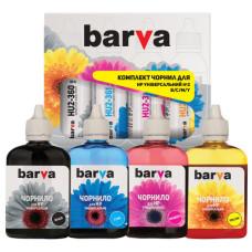 Комплект чернил BARVA для HP универсальные №2 (HU2-090-MP) 4х90г