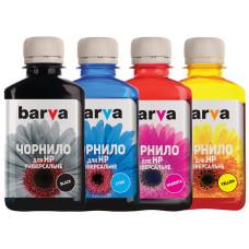 Комплект чернил BARVA для HP универсальные №3 (HU3-180-MP) 4х180г