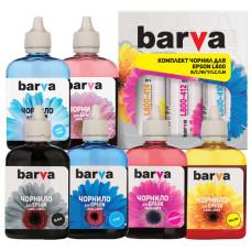 Чернила BARVA для Epson L800, L805, L810, L850, L1800 (L800-090-MP) 6x90мл