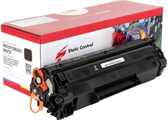 Картридж Static Control Parrot аналог Canon 737 (MF211, MF212, MF216, MF217, MF226, MF229) 002-04-TRG137