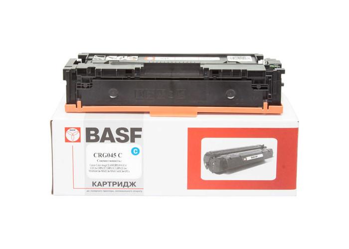 Картридж BASF аналог Canon 045 для LBP610, LBP611, LBP612, LBP613, MF630, MF632, MF634 Cyan