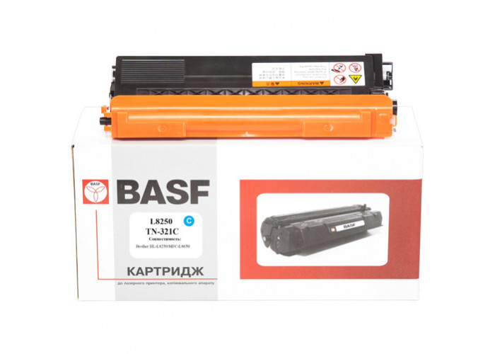 Картридж BASF аналог Brother TN-321C (HL-L8250, L8350, DCP-L8400, L8450, MFC-L8600, L8650, L8850) Cyan