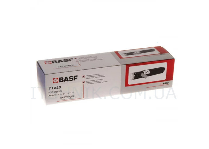 Туба BASF аналог Ricoh Type 1220D (DT34BLK) Aficio 1015, 1018, 1113