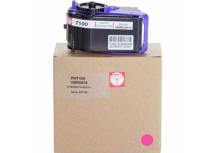 Картридж BASF для Xerox Phaser 7100 Magenta (106R02610)