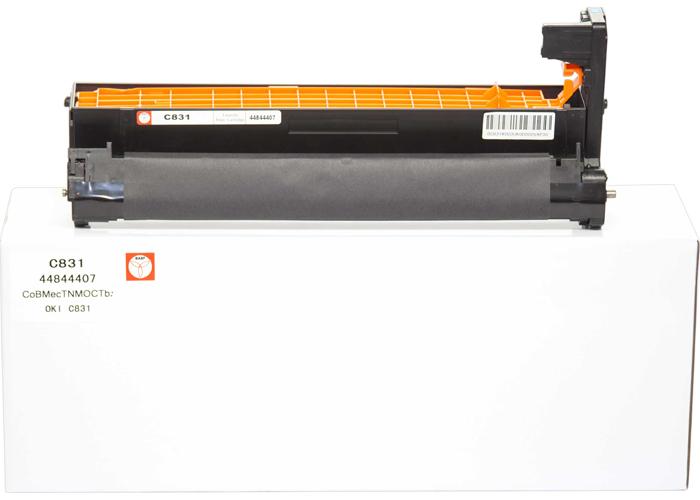 Копі картридж BASF для OKI C822, C831, C841 аналог 44844407 (DR-C831-44844407) Cyan