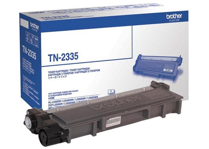 Картридж Brother TN2335 для HL-L2300, L2340, L2360, DCP-L2500, L2520, L2540, MFC-L2700, L2720 (1200арк)