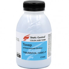 Тонер Brother HL-3040, HL-3140, HL-4040, HL-4570, HL-L8250, L8450, L9200, L9550 (TRBUNIVCOL-100BC-P) 100г Cyan