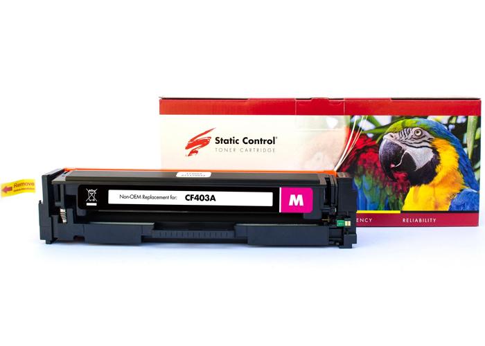 Картридж Static Control PARROT аналог Canon 045, HP CF403A (M252, M277, LBP611, LBP612, LBP613, MF630, MF632, MF634) Magenta
