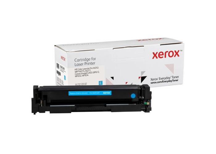 Картридж XEROX Everyday аналог Canon 045, HP CF401A (M252, M277, LBP611, LBP612, LBP613, MF632, MF634) Cyan