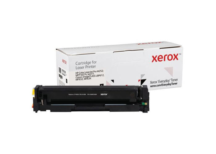 Картридж XEROX Everyday аналог Canon 045, HP CF400A (M252, M277, LBP611, LBP612, LBP613, MF630, MF632, MF634) Black
