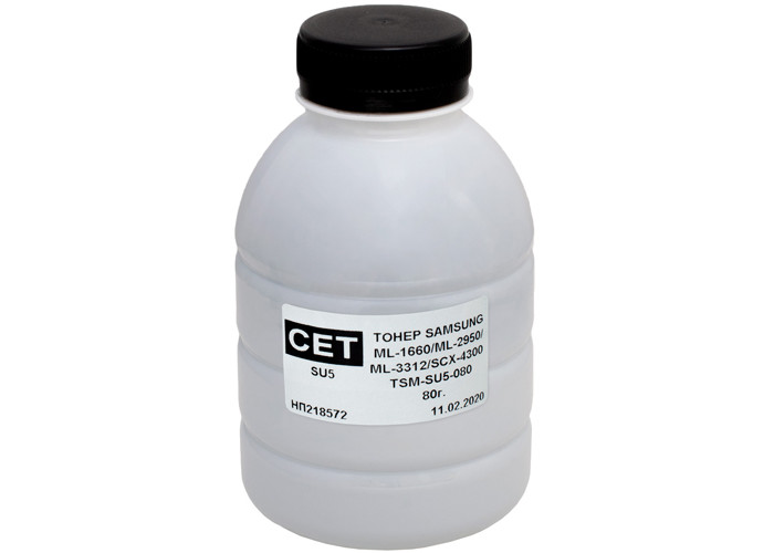 Тонер CET SU5 для Samsung ML-1610, ML-1660, ML-2955, ML-1750, ML-2250, ML-2851, SCX-4300 (CET-SU5-080) 80г
