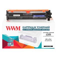 Картридж з тонером WWM аналог HP CF217A для принтерів M102, M129, M130 (LC59N)