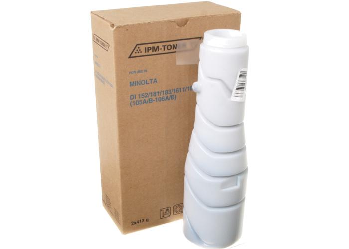 Туба з тонером IPM аналог Konica Minolta TN-114 для Di-152, Di-181, Di-183, Di-1611, Di-2011, Bizhub 162, 163, 210, 211 (TKMN13)
