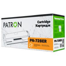 Картридж Patron Extra аналог Canon 728 (PN-728ER) MF4410, MF4430, MF4450, MF4550, MF4580, MF4730, MF4750, MF4870, MF4890