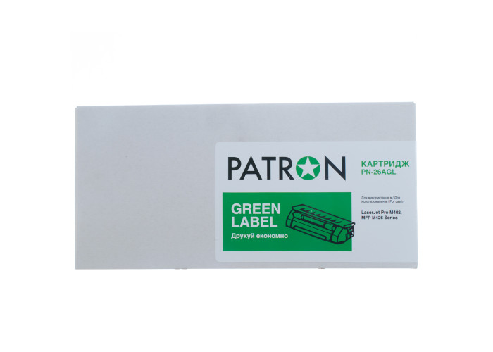 Картридж Patron аналог HP 26A (CF226A) (PN-26AGL) Green Label