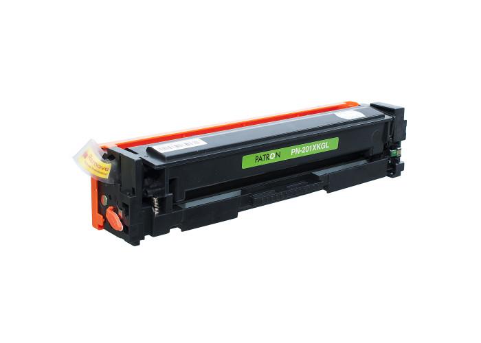 Картридж Patron Green Label аналог HP CF400X (PN-201XKGL) Color M252, M277, M274 Black